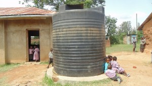 The Water Project : kenya4404-17-this-is-the-only-source-of-water-in-the-school-which-is-not-adequate-for-the-entire-population