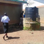 The Water Project: Ebukuya Primary School Rainwater Harvesting and VIP Latrine Project -