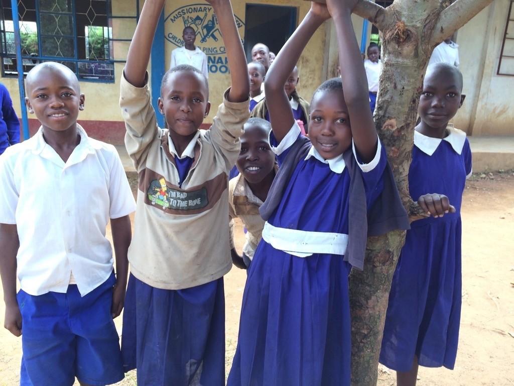 Photo of Ebukuya Primary School Rainwater Harvesting and VIP Latrine Project