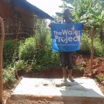 The Water Project: Opwole Spring Protection and Sanplats -