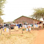 The Water Project: Nguu Secondary School Rainwater Harvesting and Sanitation Project -