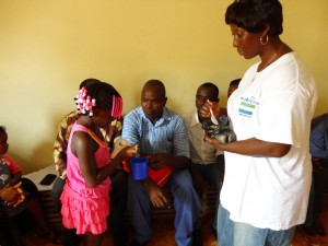 The Water Project : sierraleone5061-105-oral-rehydration-solution