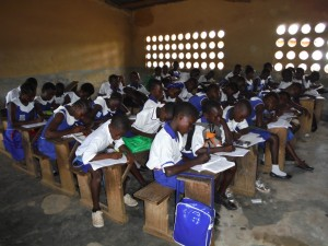 The Water Project : sierraleone5061-109-students-at-school