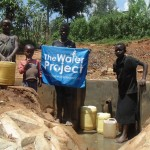 The Water Project: Otwato Spring Protection and Sanplats -