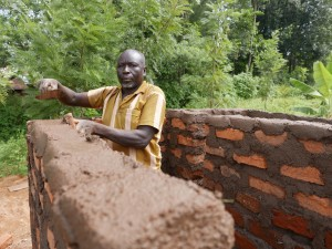The Water Project : kenya4441-06-latrine-construction