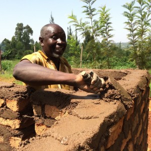 The Water Project : kenya4441-07-latrine-construction