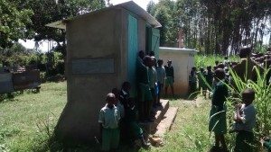 The Water Project : 10-kenya4329_latrine