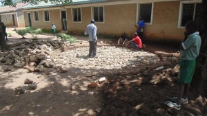 The Water Project : kenya4329-04-foundation-construction