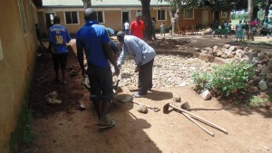 The Water Project : kenya4329-08-foundation-construction