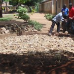The Water Project: Handidi Primary School Rainwater Harvesting and Ecosan Latrines -