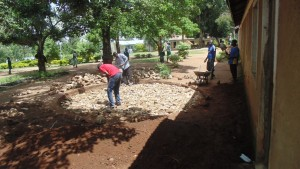 The Water Project : kenya4329-13-foundation-construction