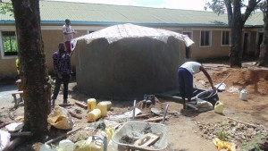 The Water Project : kenya4329-40-tank-construction