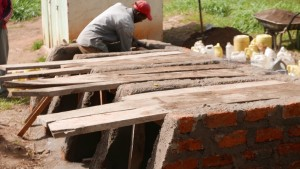 The Water Project : kenya4329-51-latrine-construction