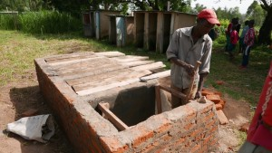 The Water Project : kenya4329-54-latrine-construction