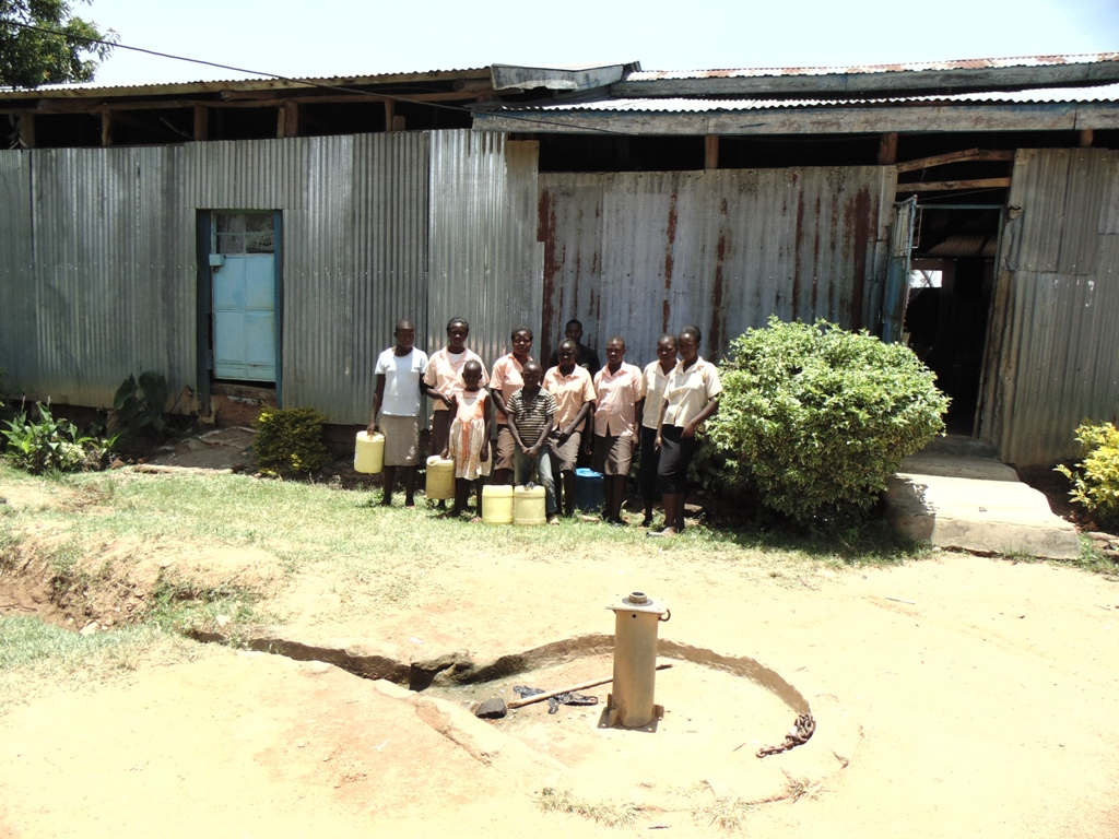 The Water Project : kenya4359-02-ebenezer-church-praise-centre