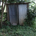 The Water Project: Ebumwende Community Well Rehabilitation Project -  Pit Latrines