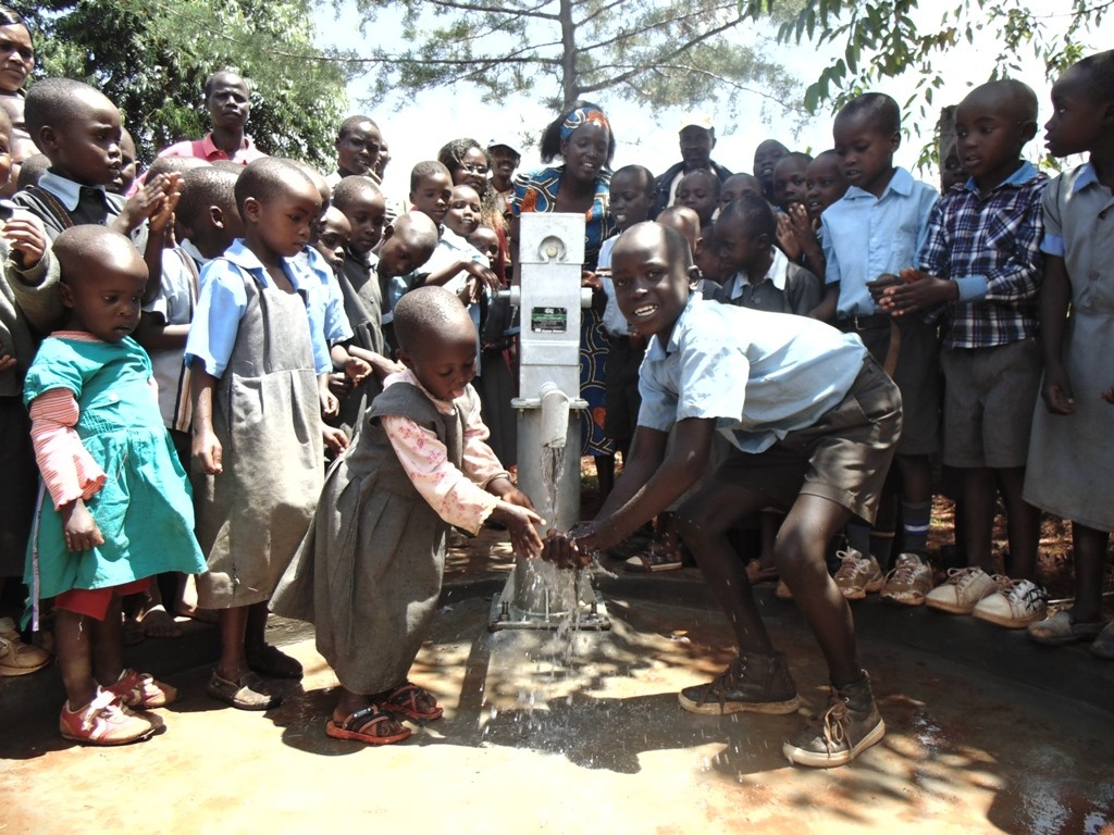 Photo of St. Peters Kapsean Primary School New Well Project