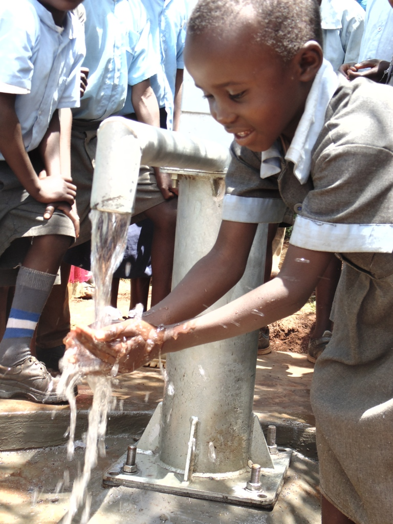 The Water Project : kenya4367-72-handing-over-kapsean-primary-school