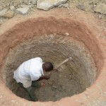 The Water Project: Itoo Self-Help Group Shallow Well Project -  Well Excavation