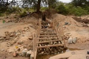 The Water Project : kenya4386-09-dam-in-progress