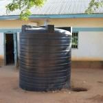The Water Project: Mituvu Secondary School Rainwater Harvesting Tank Project -