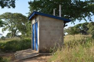 The Water Project : kenya4393-28-staff-latrines