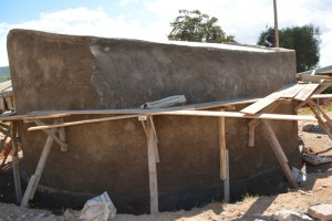 The Water Project : kenya4393-31-tank-construction