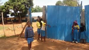 The Water Project : kenya4440-03-school-gate
