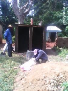 The Water Project : kenya4440-21-latrine-construction