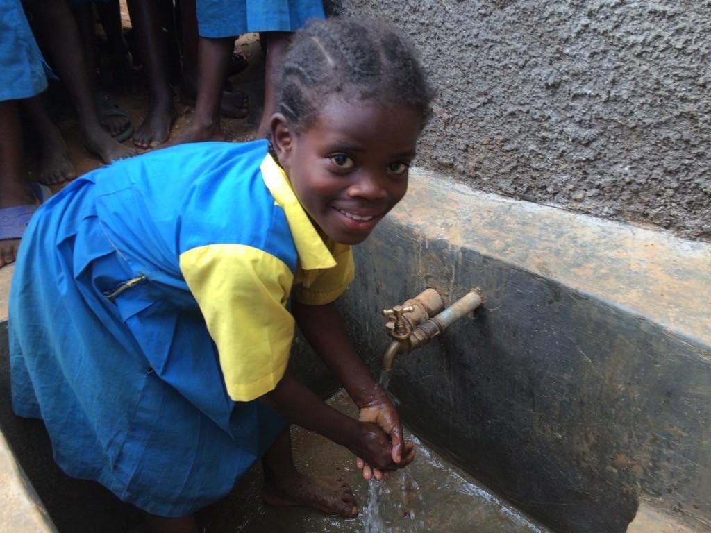 Photo of Embussamba Primary School Rainwater Harvesting and VIP Latrines
