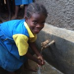 The Water Project: Embussamba Primary School Rainwater Harvesting and VIP Latrines -