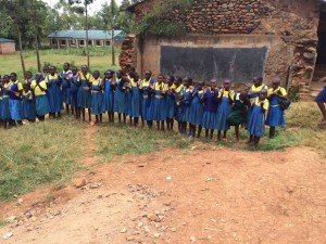 The Water Project : kenya4440-32-greatful-students