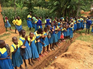 The Water Project : kenya4440-33-greatful-students