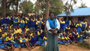 The Water Project : kenya4440-34-ebussamba-ps-teacher-thank-you