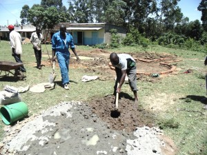 The Water Project : kenya4453-23-ematoyi-market-well-pad-construction