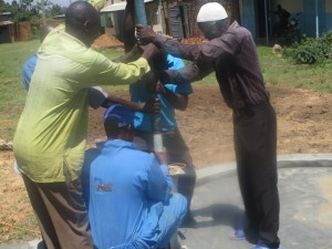 The Water Project : kenya4453-32-ematoyi-pump-installation