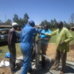 The Water Project: Ematoyi Market New Well Project -