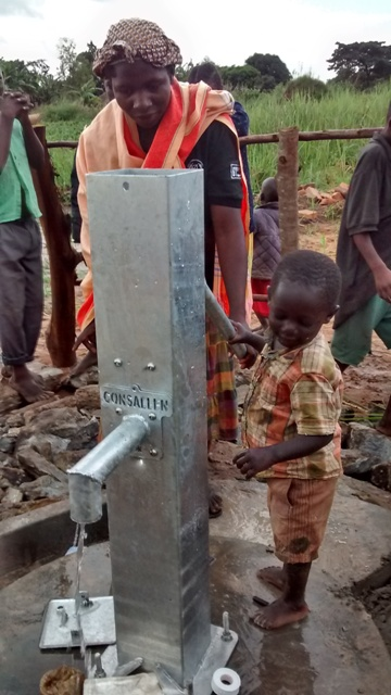 Photo of Kabukye Trust Hand Dug Well Project