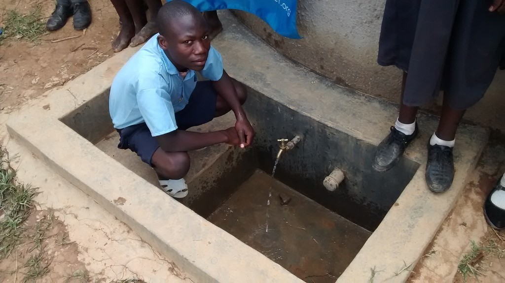 Photo of Eshinutsa Primary School Rainwater Harvesting and VIP Latrines