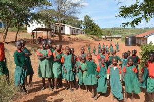 The Water Project : kenya4395-19-students