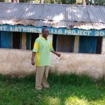 The Water Project: Ebwambwa Primary School Rainwater Harvesting and Latrine Project -