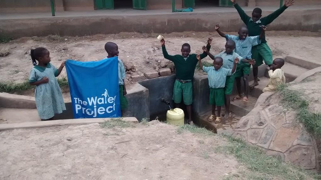 Photo of Emunga'bo Primary School Spring Protection and Sanplats