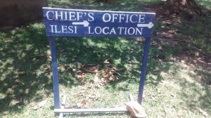 The Water Project : kenya4419-01-chief-sign