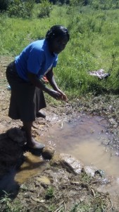 The Water Project : kenya4420-04-unprotected-spring