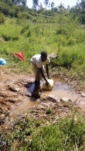 The Water Project : kenya4420-05-unprotected-spring