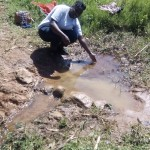 The Water Project: Ebwiranyi Community, Kabole Spring -