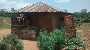 The Water Project:  Baseline Latrine