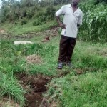 The Water Project: Eshitirira Spring Protection and Sanitation Project -