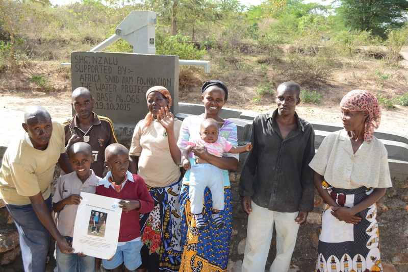 Photo of Nzalu Self Help Group Shallow Well Project