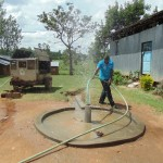 The Water Project: Ebenezer Praise Centre Church Well Rehabilitation -